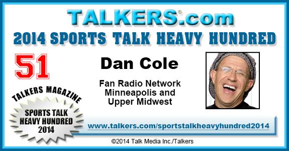 2014 TALKERS Sports Heavy Hundred