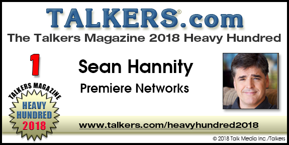 """cc4946bead124 2018 TALKERS Heavy Hundred 1-25   TALKERS magazine – """"The bible of ..."""