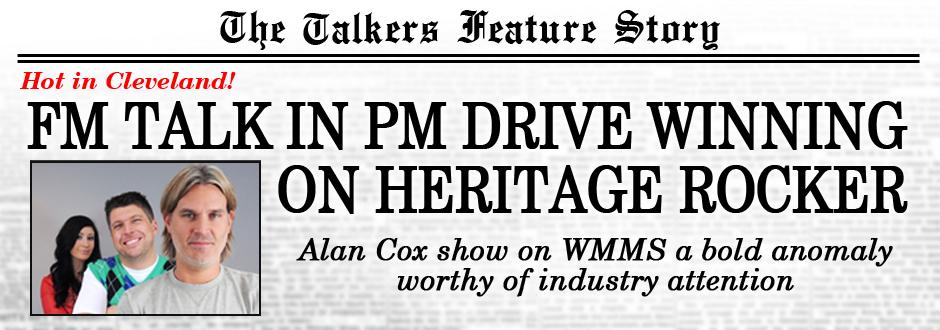 Alan Cox Talk Show Rocks Cleveland on WMMS-FM : TALKERS