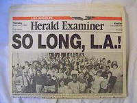 Los Angeles Herald Examiner logo
