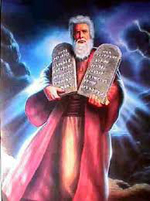 Moses - tablets