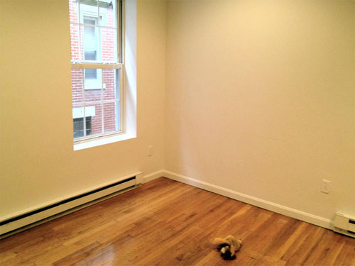 2 - Before - Empty Room With Hardwood Floors