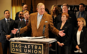 Screen Actors Guild And American Federation Of Television And Radio Artists Merger Referendum Results Announcement