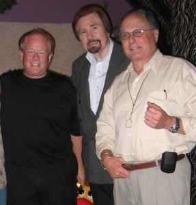 Gary Owens with Michael O'Shea and Budd Friedman