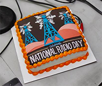 National Radio Day Cake2
