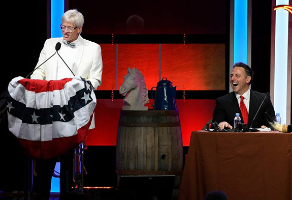 Roasting to Benefit the American Diabetes Association. KABC, Los Angeles  morning personality Doug McIntyre (standing) is pictured above emceeing the  20th ...