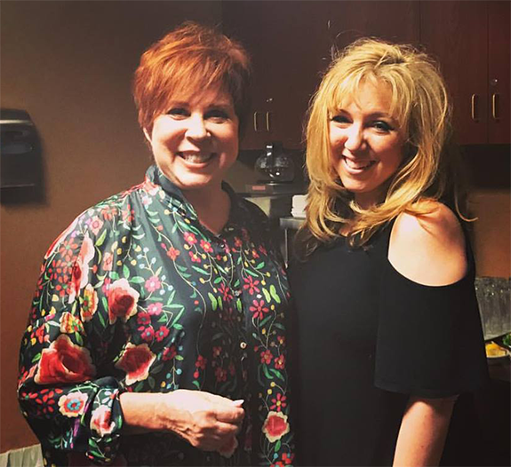 deff36204a3a9 Hangin  Out with Mama. Nationally syndicated talk show host Dr. Daliah  Wachs (right) poses for a pic with iconic comic actress Vicki Lawrence  (left) in Las ...