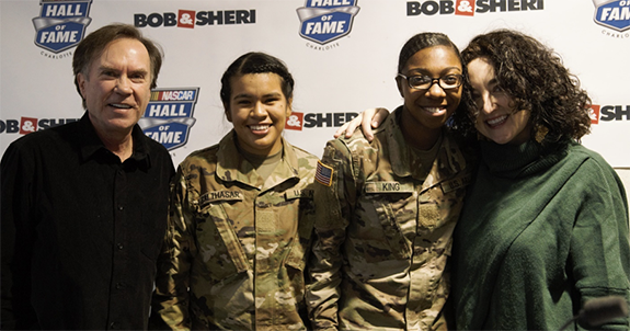 Bob & Sheri Welcome Troops Home. The nationally syndicated Bob & Sheri show  helped welcome the troops coming home through the Charlotte airports as  part of ...