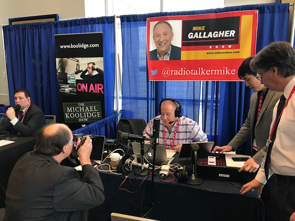 SRN's Mike Gallagher Broadcasting from CPAC. The 2018 Conservative  Political Action Conference got underway yesterday at Gaylord National  Resort in National ...