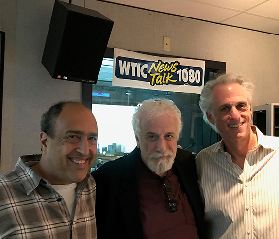 "TALKERS founder Michael Harrison paid a visit to the legendary New England  powerhouse WTIC-AM, Hartford ""NewsTalk 1080"" for an on-air chat with his  old ..."