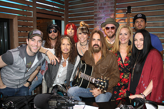 He also brought along his band, The Loving Mary Band, to talk about their  tour and much more.