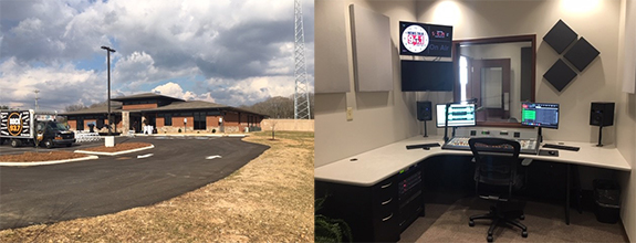 differently b704e 10b22 Tennessee s Stonecom Radio Unveils New Facility. Pictured above are two  images from Stonecom Radio of its new, 10,000-plus square foot facility  (left) in ...